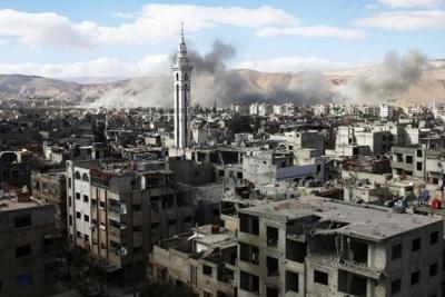 'Suriye ordusu Doğu Guta'da kontrolü sağladı'