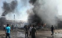 Suriye sınırında şiddetli patlama!