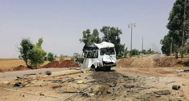 Suriye'de askeri araca bombalı saldırı: 5 kişi hayatını kaybetti, 11 yaralı