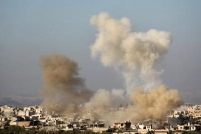 Suriye'de cihatçılar kuşattıkları beldelere havan atışı gerçekleştirdi