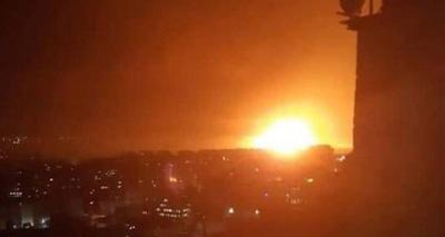 Suriye'de patlama sesleri!