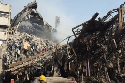 Tahran'da yanan 17 katlı bina çöktü: 30 ölü