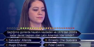 Tarih öğretmeni 'Geçtiğimiz günler hayatını kaybeden lider?' sorusuna 'Che Guevara' yanıtı verdi