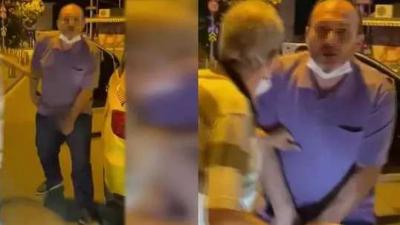 Tartıştığı kişiye cinsel organını gösteren taksici serbest bırakıldı