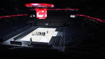 TBF: İBB, zabıtalarıyla bizi Sinan Erdem Spor Salonu'ndan çıkarmaya çalışmaktadır