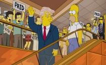 The Simpsons'un senaristinden Donald Trump açıklaması