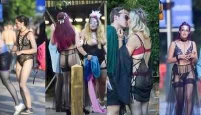 The Sun: Öğrenciler paganistik bir seks partisi düzenledi!