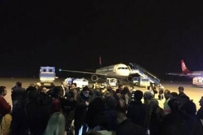 Trabzon-İstanbul uçağında kavga