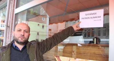 Trabzon'da markete patron aranıyor