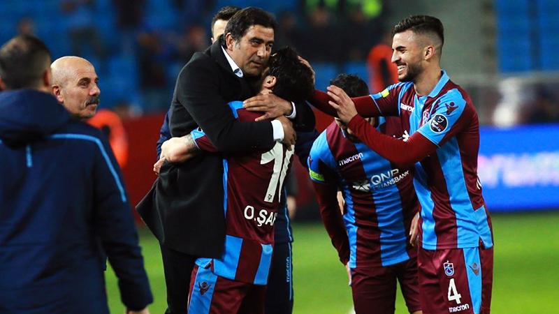 Trabzonspor Antalyasporu 4 golle geçti