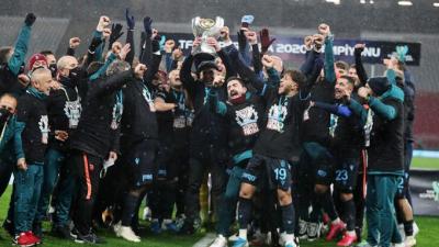 Trabzonspor, Başakşehir'i 2-1 yenerek TFF Süper Kupa'nın sahibi oldu