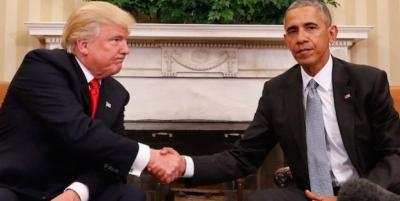 Trump ABD başkanlığını Obama'dan devralıyor