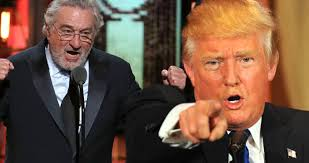 Trump'tan De Niro açıklaması: Filmlerde kafasına çok fazla yumruk yemiş