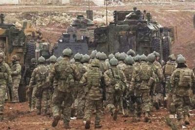 TSK El Bab'a 500 asker daha gönderdi