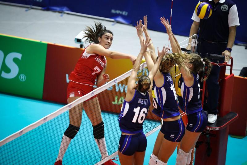 Türkiye Kadın Voleybol Takımı Avrupa Şampiyonası'nda ikinci oldu