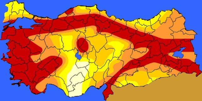 Türkiye'nin deprem haritası 23 yıl sonra değişti, bazı illerin deprem tehlikesi yükseldi