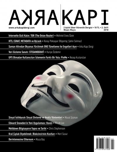 Türkiye'nin ilk ve tek hacker dergisi Arka Kapı 2.sayısı çıktı