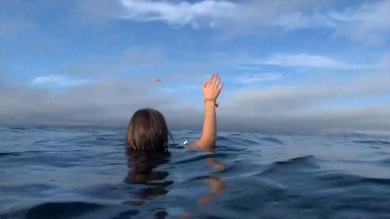 Uçakları okyanusa düştü: 'Her yerde denizanaları vardı ve bizi ısırdılar, etrafımızda balinalar geziyordu'