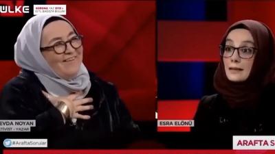 Ülke TV ve Kanal 7'den 'Sevda Noyan' açıklaması: Söylemlerini asla tasvip etmiyoruz, kamuoyundan özür dileriz