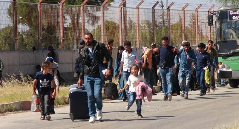 Ülkelerine giden Suriyeliler geri dönüyor