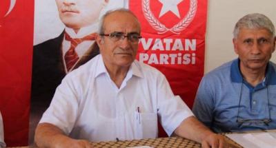 Vatan Partisi yöneticisi Mehmet Bedri Gültekin istifa etti