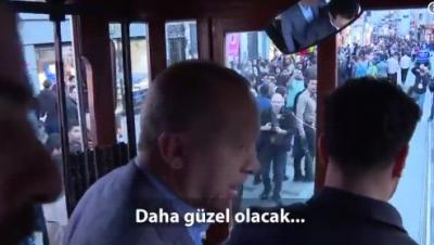Vatandaştan Erdoğan'a: Her şey çok güzel olacak
