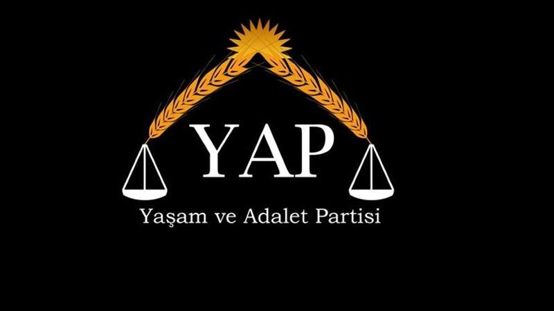 Yeni parti kuruldu; Yaşam ve Adalet Partisi için başvuru yapıldı