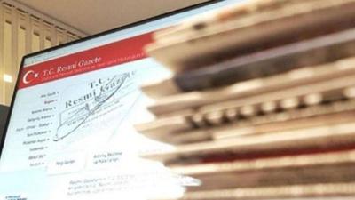 Yeni Vergi Düzenlemesine İlişkin Kanun Resmi Gazete'de yayımlandı