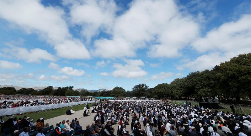 Yeni Zelanda'da cami katliamı sonrası  ezan ulusal televizyonlarda canlı yayınlandı