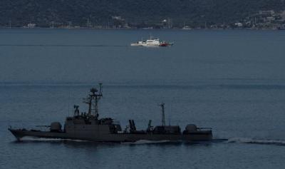 Yunan basını: Donanma Türkiye ile savaş pozisyonu aldı!