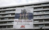 Yunanistan'da Maliye Bakanlığı işgal edildi!