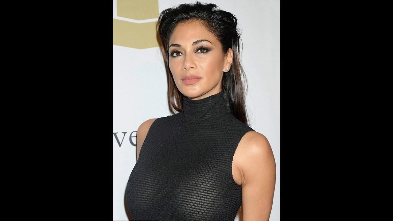 Nicole Scherzinger's Sexy Braless Dress! At the Pre-Grammy gala