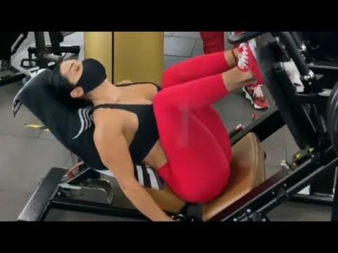 Hot Georgina Rodriguez Fitness Model Gym Workout #2021,10th Feb