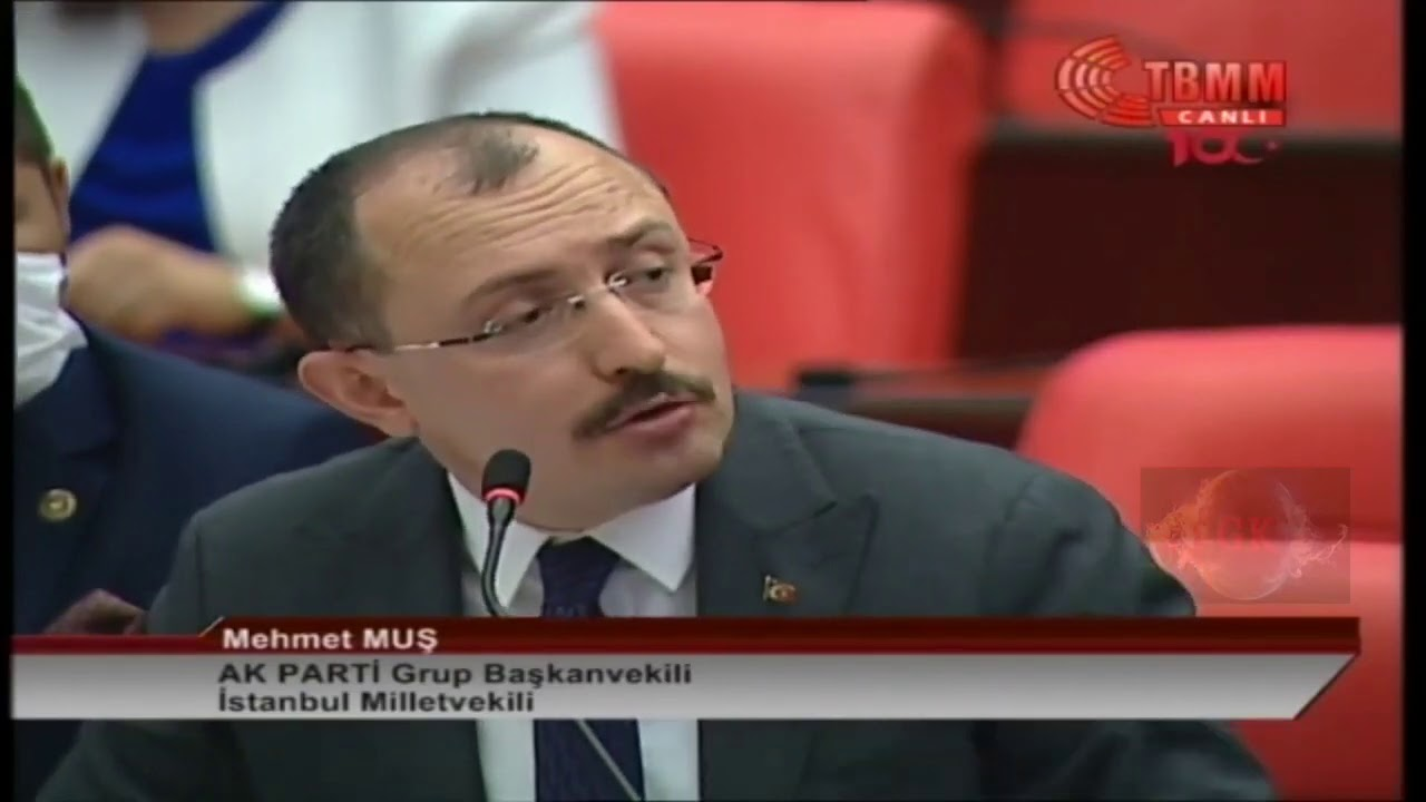 Mehmet Muş mecliste 'Sayın Fethullah Gülen' dedi