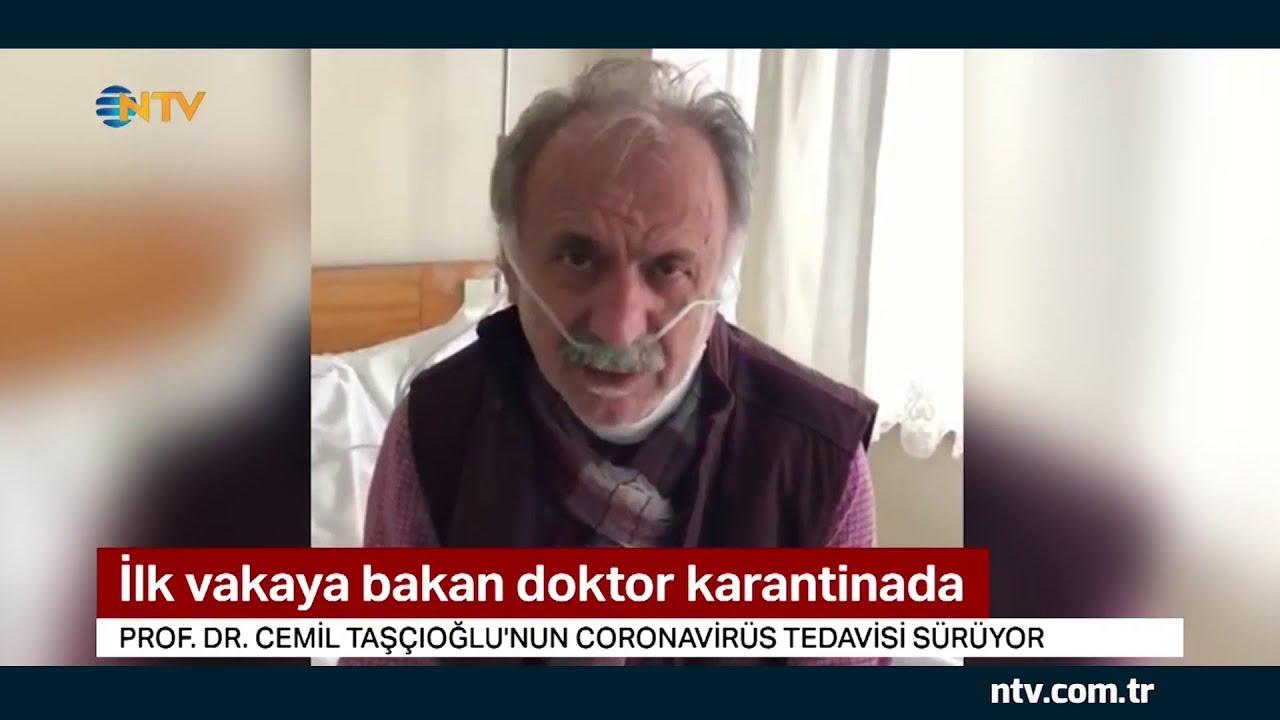 Türkiye'de ilk covid19 vakasına bakan doktor karantinada