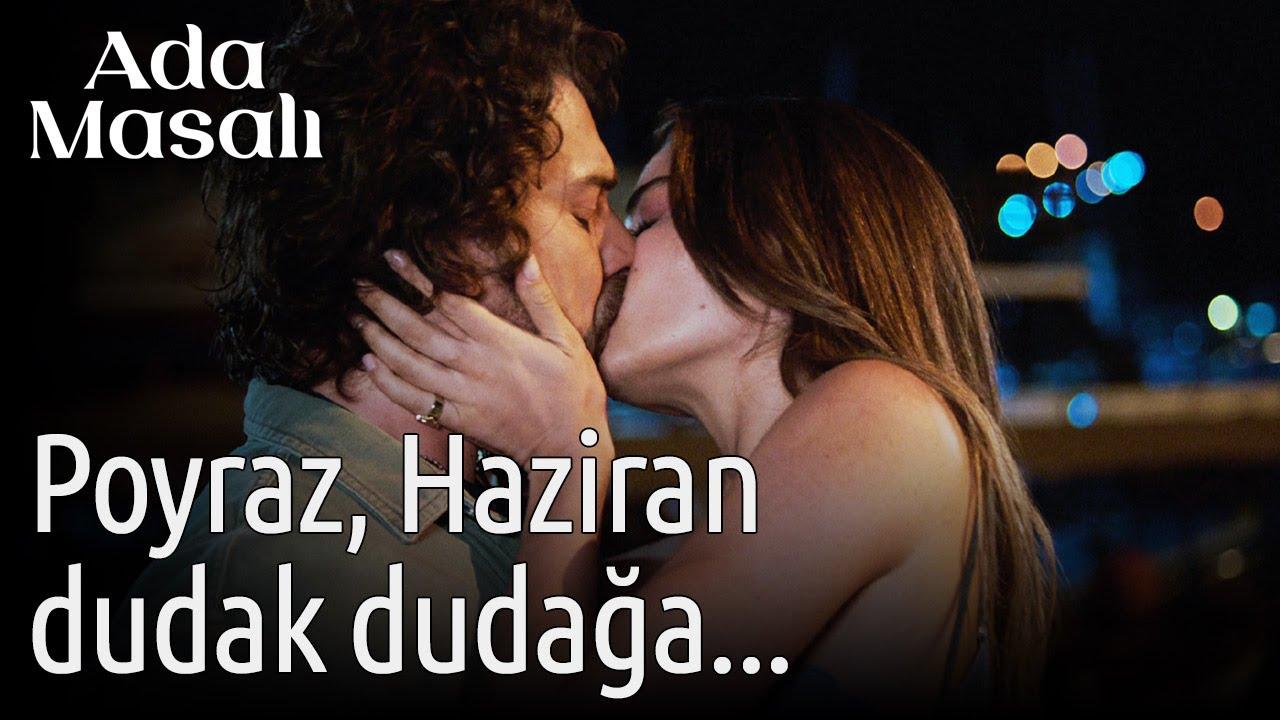 Ada Masalı 1. Bölüm'de Poyraz ve Haziran öpüştü