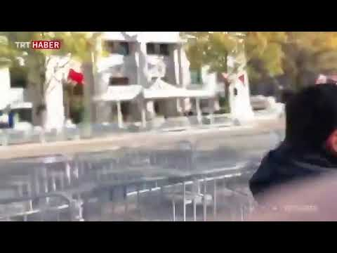 TRT muhabirine ABD'de canlı yayında saldırı | Video izle