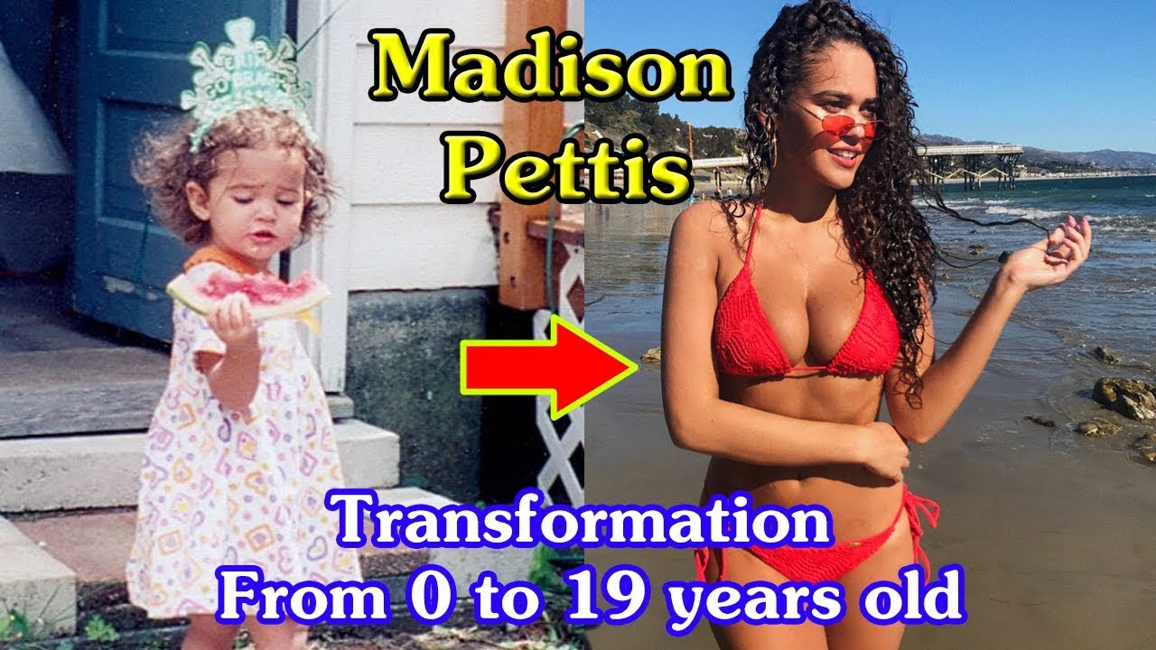 Madison Pettis transformation from 0 to 19 years old