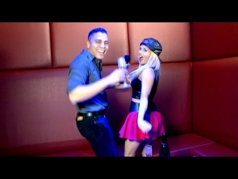 Chanel West Coast dancing with Cesar Arevalo