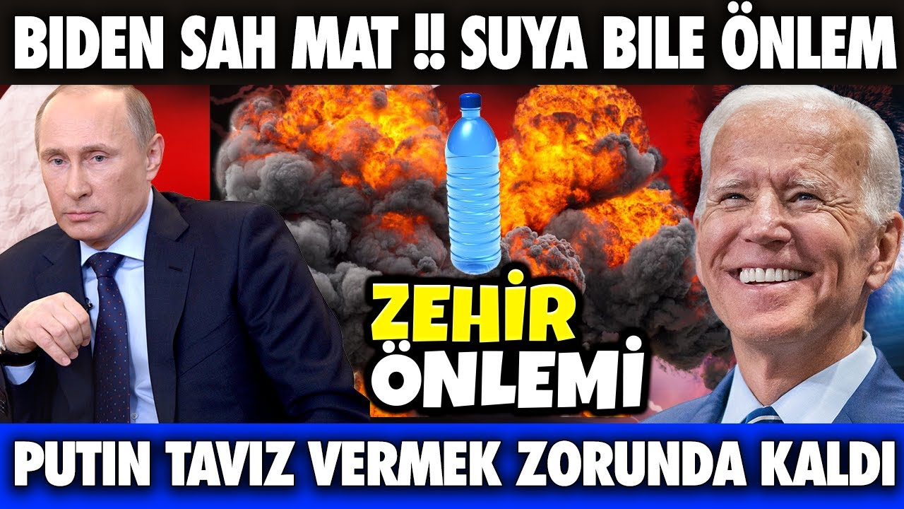 SON DAKİKA PUTİN BİDEN'E TAVİZ VERDİ !!! ABD ZEHİR ÖNLEMİ ALDI   DÜNYADAN HABERLER