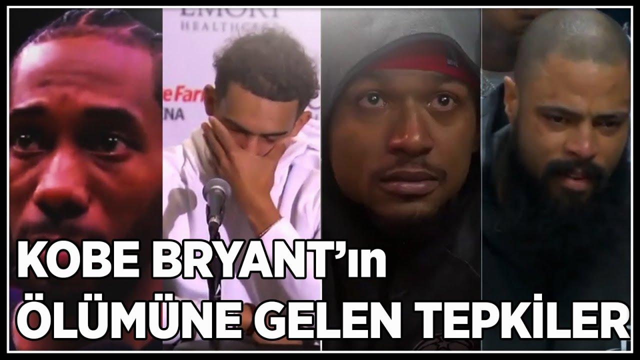 Kobe Bryant'ın Ölümüne Gelen Tepkiler