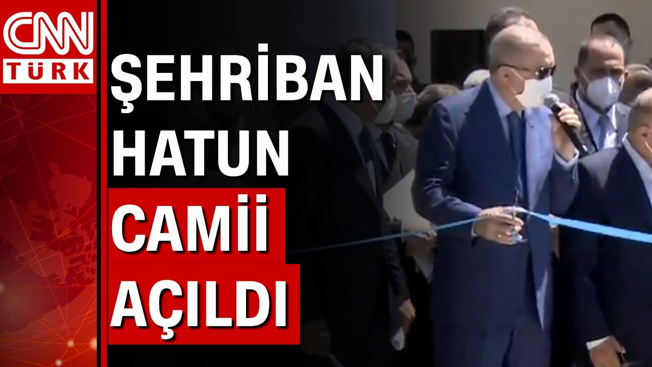 Üsküdar'da Burhaniye Şehriban Hatun Camii ibadete açıldı!