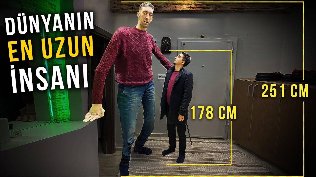 Dünya'nın en uzun insanı