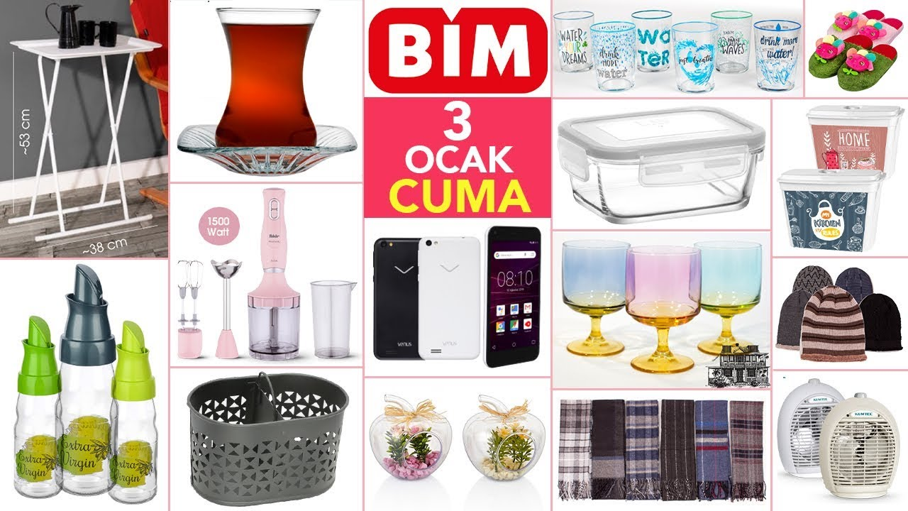 BİM'de aktüel ürünler katalogu