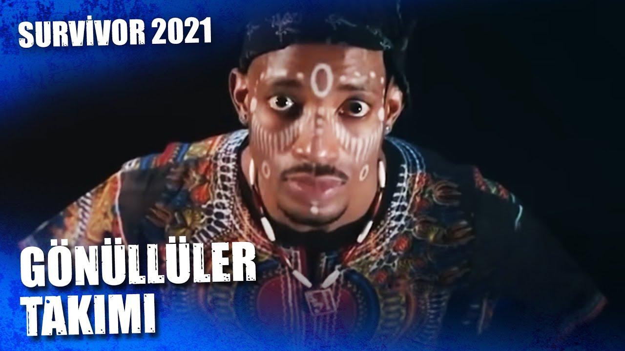 SURVİVOR 2021 GÖNÜLLÜLER TAKIMI