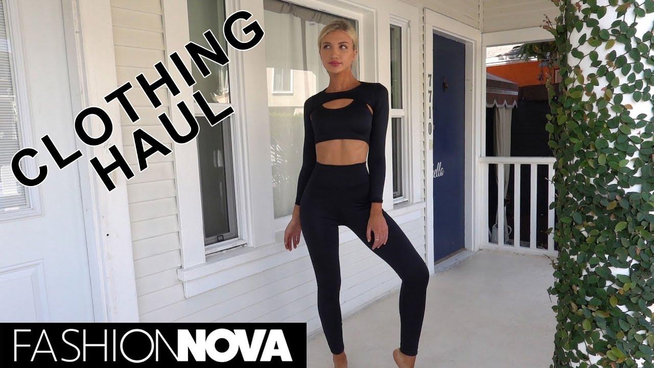 Fashion Nova clothing Haul!