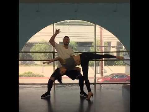 Rumer Willis and Val Chmerkovskiy Dancing Samba at the Studio in Los Angeles (Mar 28, 2015)