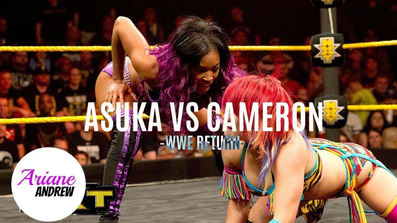 WWE NXT Asuka vs Cameron