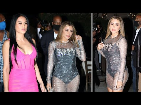 Larsa Pippen Is A Total Glamour Girl For Night Out In Beverly Hills