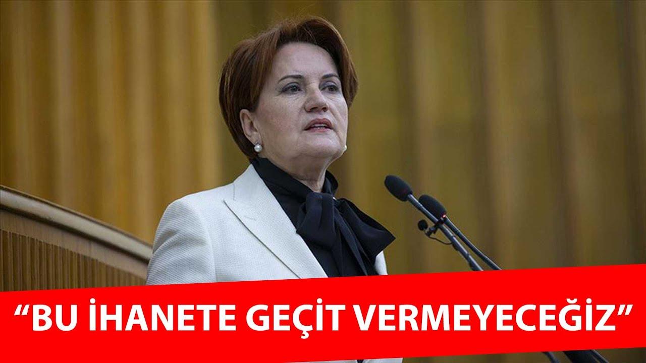 Meral Akşener Meclis kürsüsünden meydan okudu